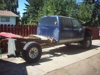 1995 GMC sle 4 door 3500 1ton 4x4 turbo diesel 6' lift kit