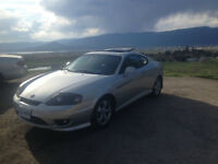 2005 Hyundai Tiburon Coupe (2 door)- Must sell this weekend!