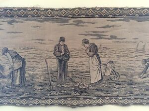 Antique French Tapestry of Jean François Millet's Angelus