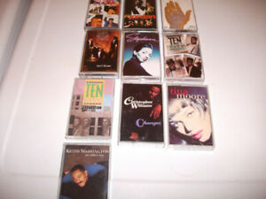 "10 R""n'B/SOUL CASSETTE TAPES .ALL ARE IN EXCELLENT CONDITION."
