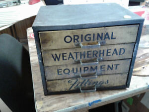 Weatherhead 4 drawer cabinet