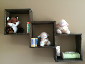 Shadow Box Wooden Shelves