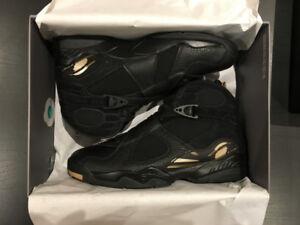 230f4cfad2d Jordan 8 Retro OVO Black Size 10.5