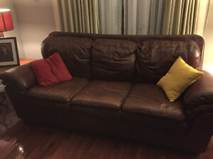 Leather couch and love St. John's Newfoundland image 1