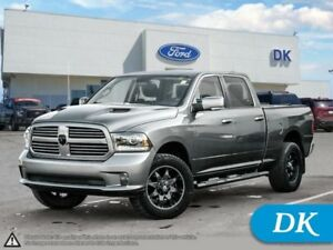 2013 Ram 1500 Sport 5.7L w/Leather, Moonroof, Nav, and More!