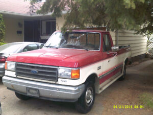 1989 Ford F150. Low kms 4x4. Great Condition. $4800