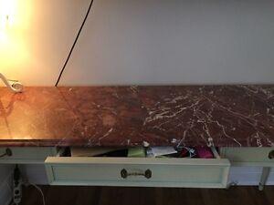 Vanity table & Mini Vetrina