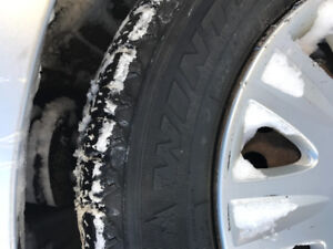 Pneus d'hiver/ winter tires $150