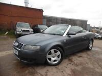 AUDI A4 CONVERTIBLE 2.4 PETROL AUTO SPARES AND REPAIRS
