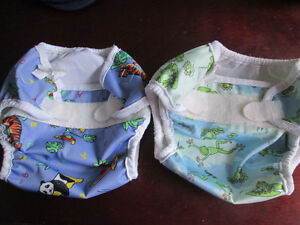 Bummis super whisper wraps diaper covers and free bibs