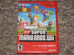 New Super Mario Bros Wii (Works with Wii U)