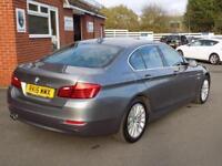 2015 15 BMW 5 SERIES 520D LUXURY 4DR AUTO (188) PRO SAT NAV DIESEL