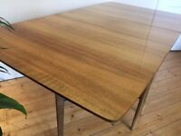 Mid Century Drop Leaf Dining Table Retro