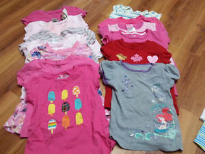 Lot of girl summer clothes - size 3 (toddler)