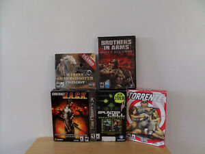 Set of 5 PC video Games Kingston Kingston Area image 1