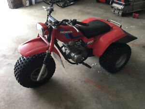 1984 honda 200s trike in very nice condition