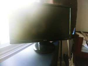 ASUS VH242H 1920x1080 Monitor with built-in speakers(decent sub)