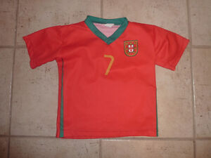 Ronaldo soccer jersey, size 4T, excellent condition Kitchener / Waterloo Kitchener Area image 1