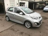 2012/12 Kia Picanto 1.25 Picanto 3 5dr New Shape ONLY £20 PA Road Tax £3995