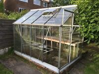 8ft by 6ft Greenhouse