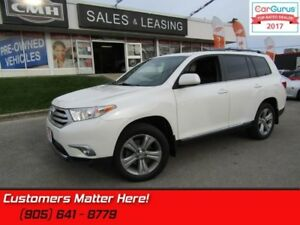 2013 Toyota Highlander Sport  PRISITINE, LEATHER, SUNROOF, 7 PAS