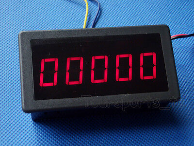 0.56 Red Led Digital Counter Meter Count Timer Timing Three Function Dc12-24v