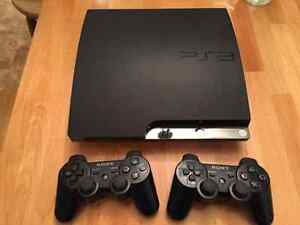 PS3 Slim 320GB Console With 15 Games and 2 Controllers