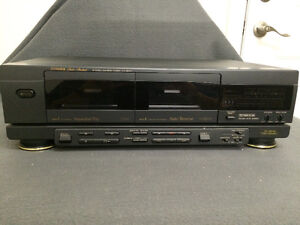 Fisher CR-W9145 Stereo Double Cassette Deck London Ontario image 2