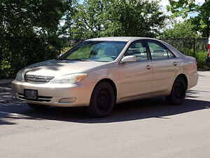2002 Toyota Camry LE ONE OWNER NO ACCIDENTS!!!