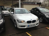 BMW 118 2.0TD 2013MY d SE