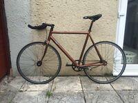 Fuji classic track fixed gear / fixie / single speed bike