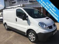 2012 12 RENAULT TRAFIC SL27 SWB, AIR CON, ULTRA LOW 28K MILES FSH, CHOICE @ SVS