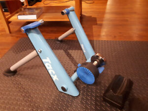 Tacx indoor bike trainer.