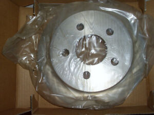 Two Rear Drum Rotors