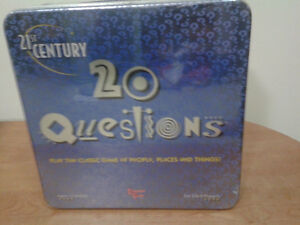 21st Century 20 Questions Board Game! West Island Greater Montréal image 1