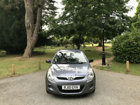 2010 Hyundai i20 1.2 Classic 5 Door Hatchback Grey (FINANCE AVAILABLE)