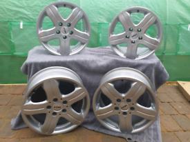 16 Inch Alloy Wheels Rial 7.50 x 16 5x112 66.6 ET35 DF 756