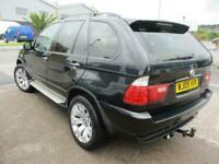 2005 (05) BMW X5 3.0D SPORT Black Auto Diesel 4x4 Climate Cruise Glass Roof FSH