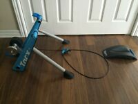 Blue Matic TacX trainer