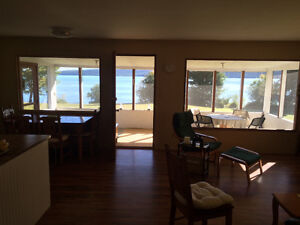 10 Acres Waterfront with Cottage, 300 feet Waterfront