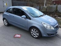 2007 VAUXHALL CORSA DESIGN 1.4 BLUE 3 DOOR HPI CLEAR LONG MOT SERVICE HISTORY