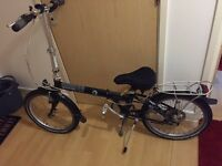 Dahon speed 7 folding cycle