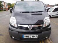 NO VAT! Vauxhall Vivaro 2.0CDTi Sportive LWB panel van one owner (3)
