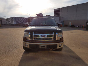 2010 Ford F-150 Lariat 4x4 SuperCrew Cab 5.5 ft. box 145 in. WB