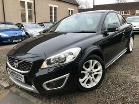 ✿10-Reg Volvo C30 1.6D SE DRIVe, Black, Diesel ✿NICE EXAMPLE✿