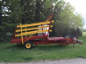 New Holland Bale Stacker