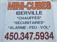 Mini-entrepôts - Entreposage - Mini-cubes PRIX IMBATTABLES