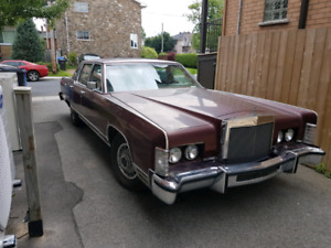 Lincoln continental town car 1979 A1