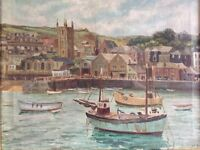 Old Oil Painting - St Ives School