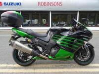 2014 64 Reg Kawasaki ZZR1400 Performance Sport 7294 Miles Ohlins Akrapovic